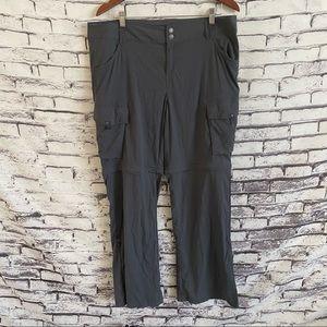 Prana Sage Convertible Pants SZ 14